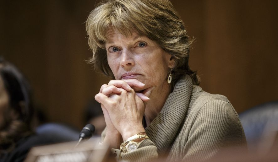 Sen. Lisa Murkowski, Alaska Republican and chairwoman of the Senate Committee on Energy and Natural Resources (Associated Press) **FILE**