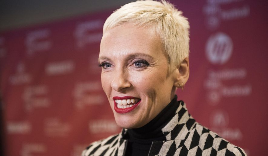 "Actress Toni Collette attends the premiere of ""Glassland"" during the 2015 Sundance Film Festival on Saturday, Jan. 24, 2015, in Park City, Utah. (Photo by Arthur Mola/Invision/AP)"