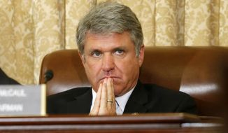 Rep. Michael T. McCaul, the Texas Republican. (Associated Press) ** FILE **