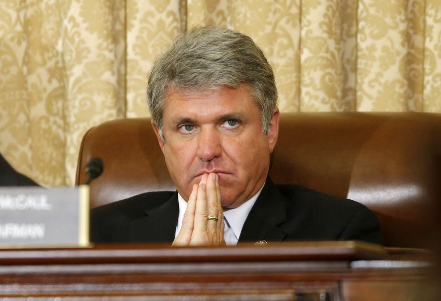 Rep. Michael T. McCaul, the Texas Republican. (Associated Press) ** FILE **