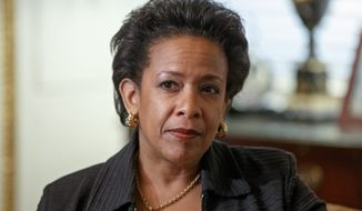 Senators are worried that Loretta Lynch, who would become the nation's first black female attorney general, has too many similarities to Eric H. Holder Jr., who has had an adversarial relationship with the legislative branch. (Associated Press)