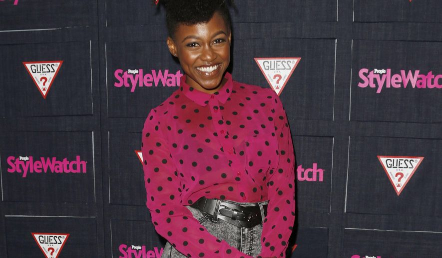 FILE -- In this Sept. 20, 2012 file photo, Daniele Watts attends The Hollywood Denim Party at Palihouse in West Hollywood. An attorney for Watts and her boyfriend entered a not guilty plea in Los Angeles to misdemeanor lewd conduct charges on Tuesday Jan. 27, 2015.  (Photo by Todd Williamson/Invision/AP, File)
