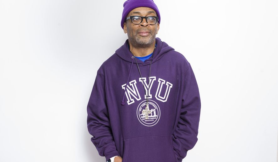 "In this Jan. 25, 2015 photo, writer-director Spike Lee poses for a portrait to promote the film, ""Da Sweet Blood of Jesus"", at the Eddie Bauer Adventure House during the Sundance Film Festival in Park City, Utah. (Photo by Victoria Will/Invision/AP)"