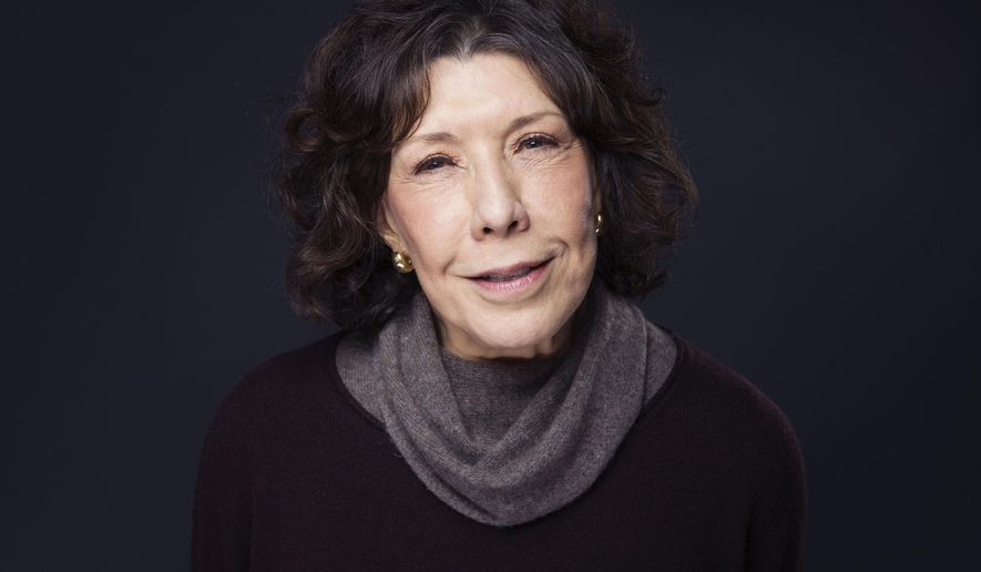 "Lily Tomlin poses for a portrait to promote the film, ""Grandma"", at the Eddie Bauer Adventure House during the Sundance Film Festival on Monday, Jan. 26, 2015, in Park City, Utah. (Photo by Victoria Will/Invision/AP)"