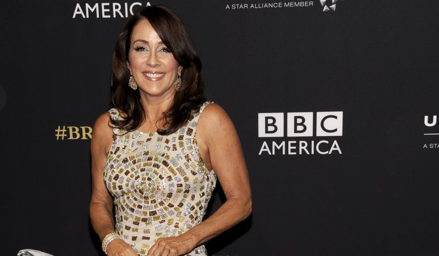 Patricia Heaton arrives at the BAFTA Los Angeles Britannia Awards at the Beverly Hilton Hotel on Thursday, Oct. 30, 2014, in Beverly Hills, Calif. (Photo by Chris Pizzello/Invision/AP)  ** FILE **