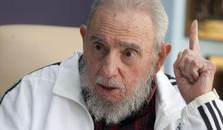 Fidel Castro. (Associated Press) ** FILE **