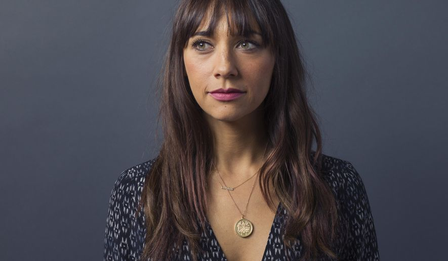 "Rashida Jones poses for a portrait to promote the film, ""Hot Girls Wanted,"" at the Eddie Bauer Adventure House during the Sundance Film Festival on Saturday, Jan. 24, 2015, in Park City, Utah. (Photo by Victoria Will/Invision/AP)"