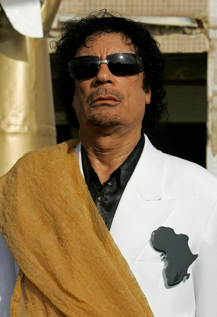 Losing control: Col. Moammar Gadhafi ruled Libya with an iron fist, but U.S. military leaders were looking for a way to avoid a power vacuum.
