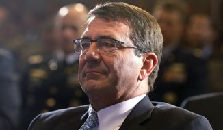 Ash Carter, President Obama's pick to be the new defense secretary, has told senators he doesn't see any way to close down the prison at Guantanamo Bay over the next two years, putting a major dent in Mr. Obama's hopes to shut it down before he leaves office. (Associated Press)