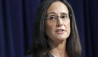 Illinois Attorney General Lisa Madigan has boosted friends' salaries as her state faces billions of dollars in debt, according to a nonprofit research group. (Associated Press)