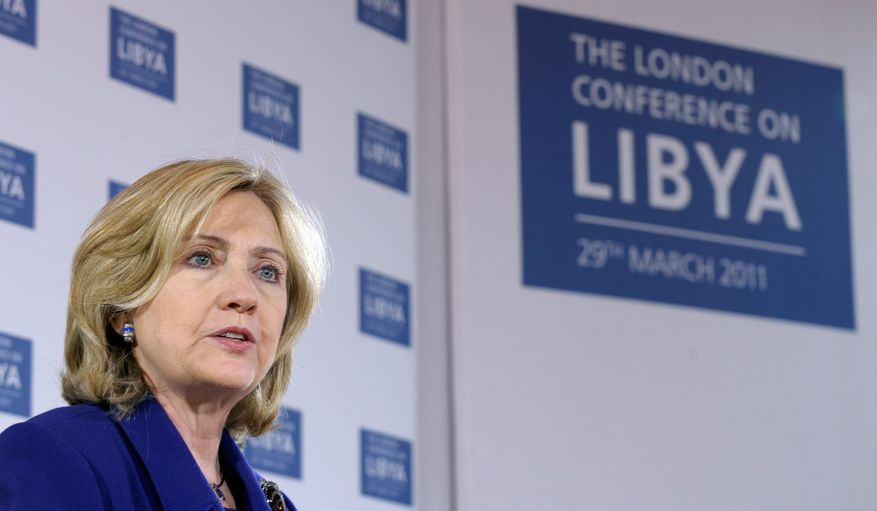 Echoes of the past: Secretary of State Hillary Rodham Clinton recalled the Rwanda genocide in making her case for U.S. intervention in Libya. (Associated Press Photographs)