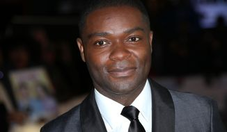 Actor David Oyelowo poses for photographers at a central London cinema, Tuesday, Jan. 27, 2015, for the European premiere of Selma, a film about a three month campaign led by Martin Luther King Jr, which culminated in a march from Selma to Montgomery, Alabama,USA. (Photo by Joel Ryan/Invision/AP)