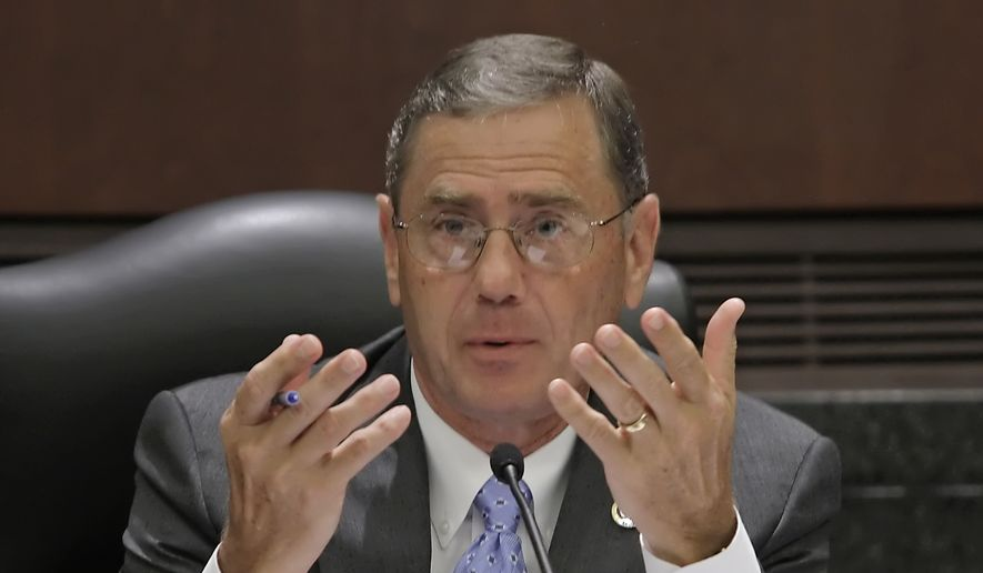 Rep. Blaine Luetkemeyer, Missouri Republican. (AP Photo/Tom Gannam) ** FILE **