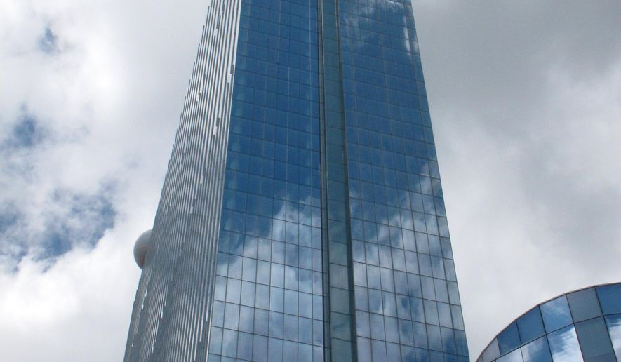 This May 10, 2012 photo shows the former Revel Casino Hotel in Atlantic City, N.J. The casino, which closed on Sept. 2, 2014, is getting a big tax break for 2015. A settlement made public on Wednesday, Jan. 28, 2015,  lowers Revel's tax assessment from $625 million to $225 million. It is to be sold to a Florida developer early next month. (AP Photo/Wayne Parry)
