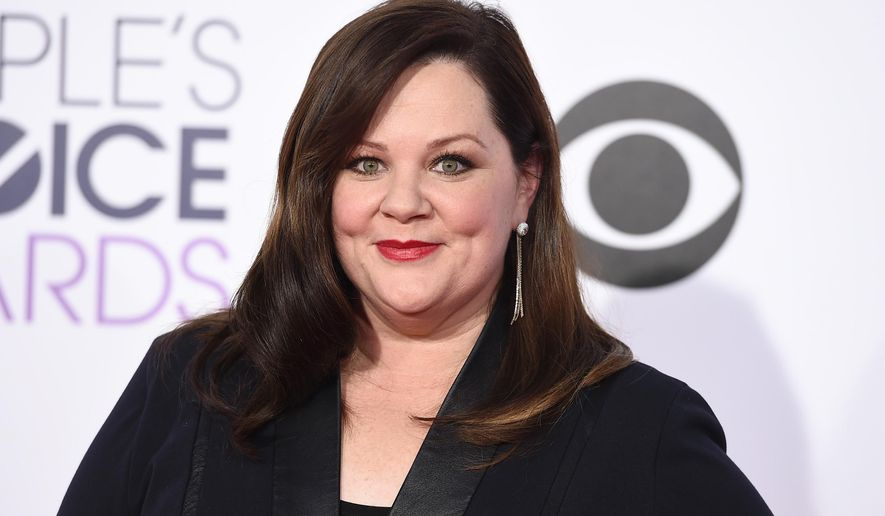 In this Jan. 7, 2015 file photo, actress Melissa McCarthy arrives at the People's Choice Awards at the Nokia Theatre in Los Angeles. (Photo by Jordan Strauss/Invision/AP, File)