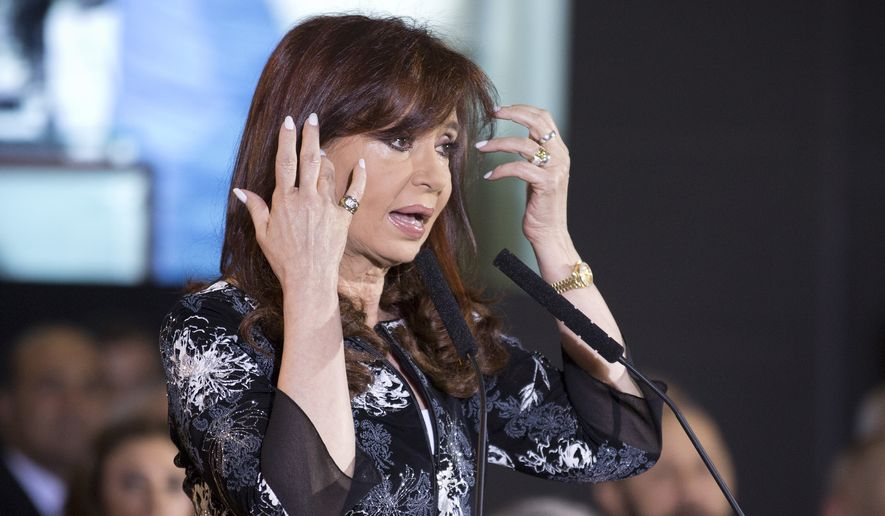 """Argentina's President Cristina Fernandez, who in December leaves office after two full terms, likes to pepper her speeches with a mix of anecdotes, slights and insinuations. She hardly ever talks to reporters, once telling a Georgetown University student that """"rulers are not there to answer"""" questions. (Associated Press)"""