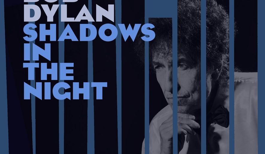 """This CD cover image released by Columbia shows """"Shadows in the Night,"""" by Bob Dylan. (AP Photo/Columbia)"""