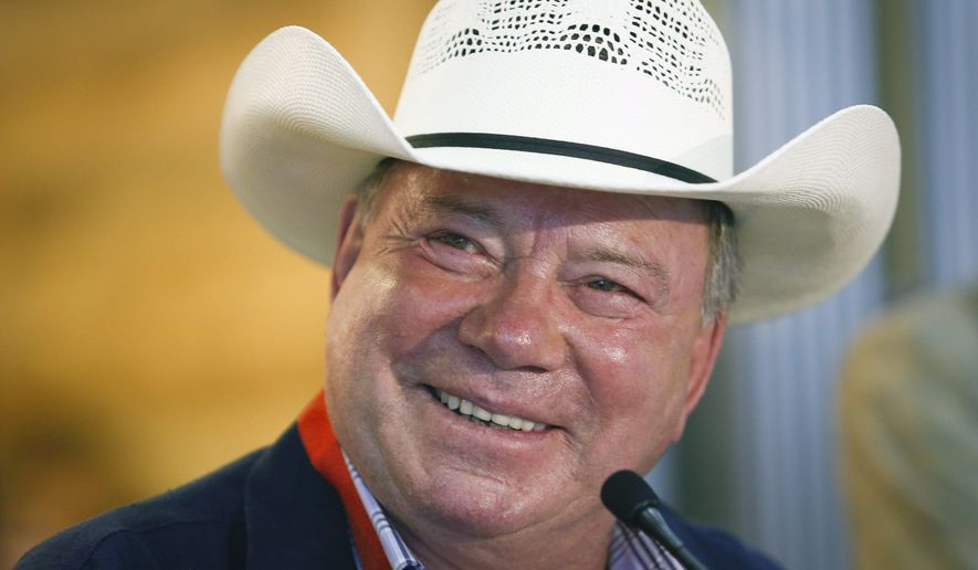 Calgary Stampede Parade Marshal William Shatner Speaks To