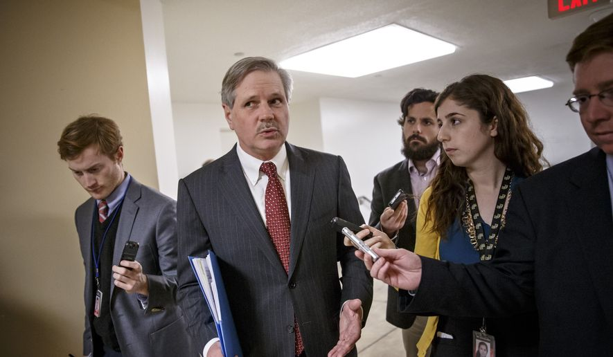 """This took a bipartisan effort to get done. That's what the people want,"" said Sen. John Hoeven, the North Dakota Republican who sponsored the legislation. (Associated Press)"