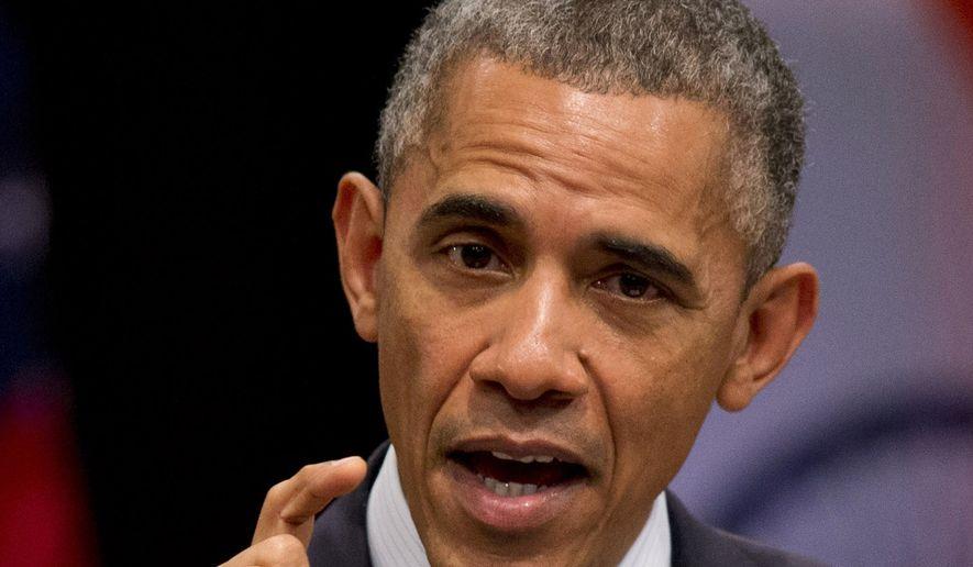 President Obama. (AP Photo/Saurabh Das)
