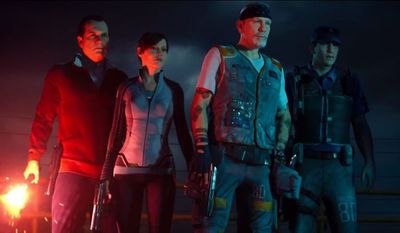 Bill Paxton, Rose McGowan, John Malkovich and Jon Bernthal star in Exo Zombies, a first person shooting adventure that is part of the Call of Duty: Advanced Warfare, Havoc content pack.