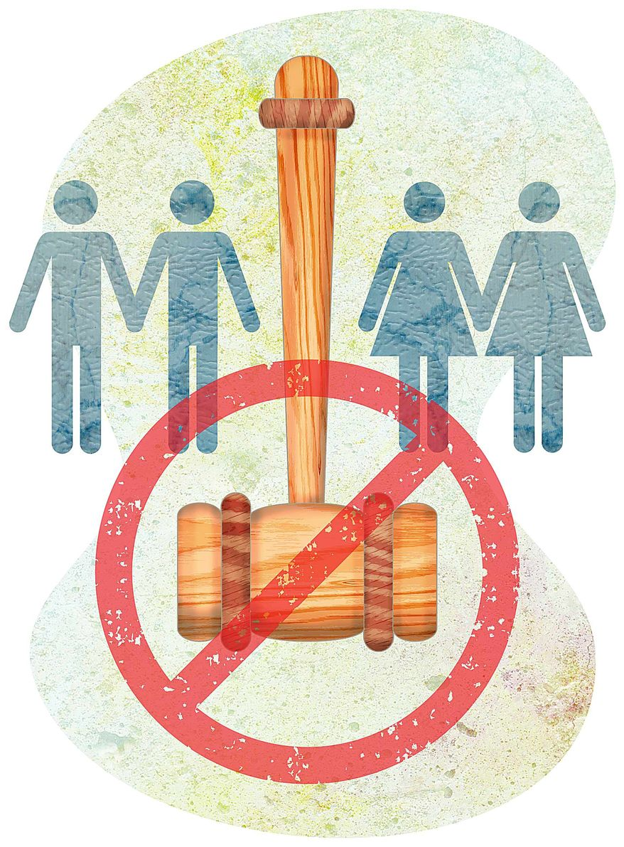 Stopping Illicit Court Rulings Illustration by Greg Groesch/The Washington Times