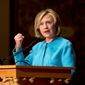Hillary Rodham Clinton is likely to face questions over whether she had an adequate plan for Libya in 2011 and whether her efforts led to the Benghazi tragedy a year later. (Associated Press)