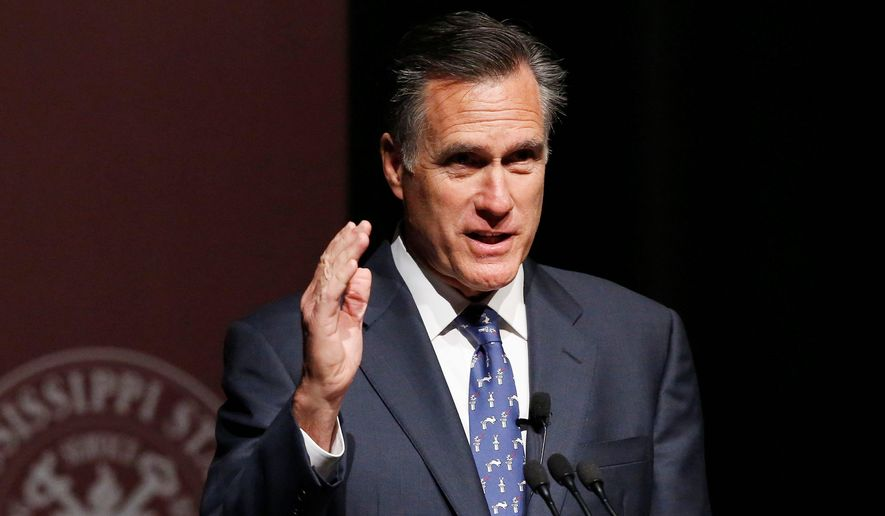Mitt Romney. (AP Photo/File)