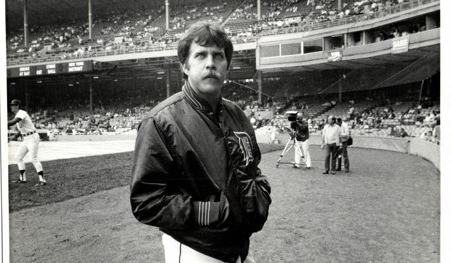 "This undated photo shows Detroit Tigers baseball player Dave Bergman at Tiger Stadium in Detroit. Bergman has died at age 61. The team extended condolences Monday, Feb. 2, 2015, to Bergman's family, calling him ""as spirited a person as he was a player."" (AP Photo/Detroit Free Press, Mary Schroeder)  DETROIT NEWS OUT;  NO SALES"