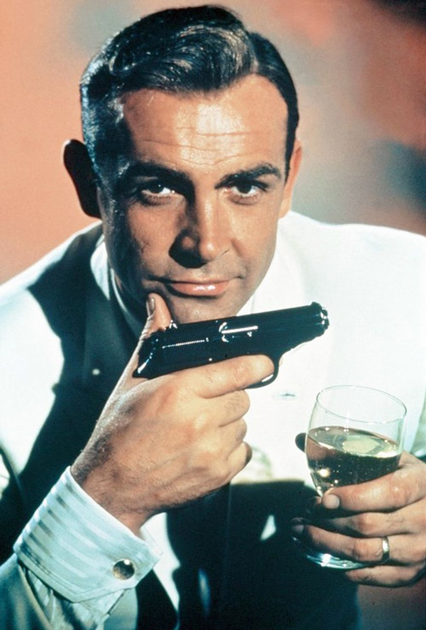 "The iconic, and signature weapon for James Bond 007 has been the Walther PPK. Given limitations in supplying such weapons to production, in some cases the Walther PP and Walther P5 have served as ""look alike"" stand ins."