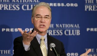 """The president has always shown a penchant for increasing the size of government and increasing the reach of government,"" said House Committee on the Budget Chairman Tom Price, Georgia Republican. ""It's hard to have a government that isn't as regulatory and prescriptive as the president wants without having more people."" (Associated Press)"