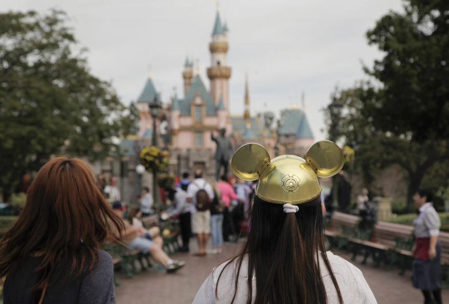Disney reported another quarter of strong growth on Tuesday, Feb. 3, helped by higher revenue from its parks and resorts despite an outbreak of measles at its California park in December. (AP Photo/Jae C. Hong, File)