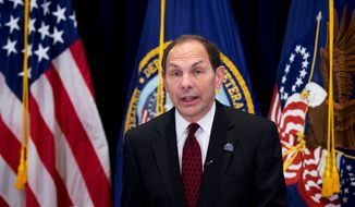 Veterans Affairs Secretary Robert McDonald on Monday defended President Obama's plan to scale back funding for the VA Choice Card, and redirect that money to other parts of the agency. The House and Senate veterans' affairs committees expressed concerns about the proposal. (Associated press)