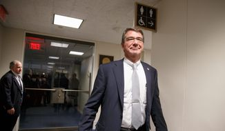President Obama's Secretary of Defense nominee Ashton Carter is signaling to lawmakers that instability in such countries as Libya and Yemen may require additional counterterrorism operations similar to the ones being conducted by the U.S. military on the Pakistan and Afghanistan border. (Associated Press)