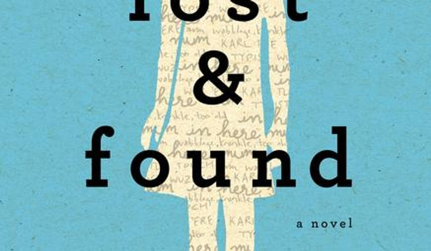 "This book cover image released by Dutton shows ""Lost & Found,"" by Brooke Davis. (AP Photo/Dutton)"