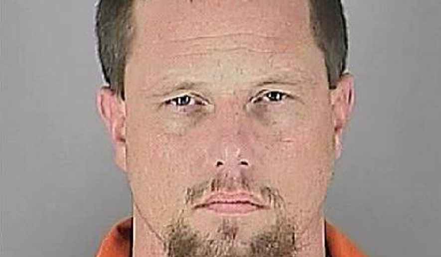 In this photo provided Tuesday, Feb. 3, 2015, by the Hennepin County Sheriff's Office shows David Michael Winters. Police exchanged shots with Winters in the parking lot of a suburban Minneapolis business on Tuesday, touching off a manhunt that led to the lockdown of a supermarket. Stanek said Winters may be wounded and should be considered armed and dangerous. (AP Photo/Hennepin County Sheriff's Office)