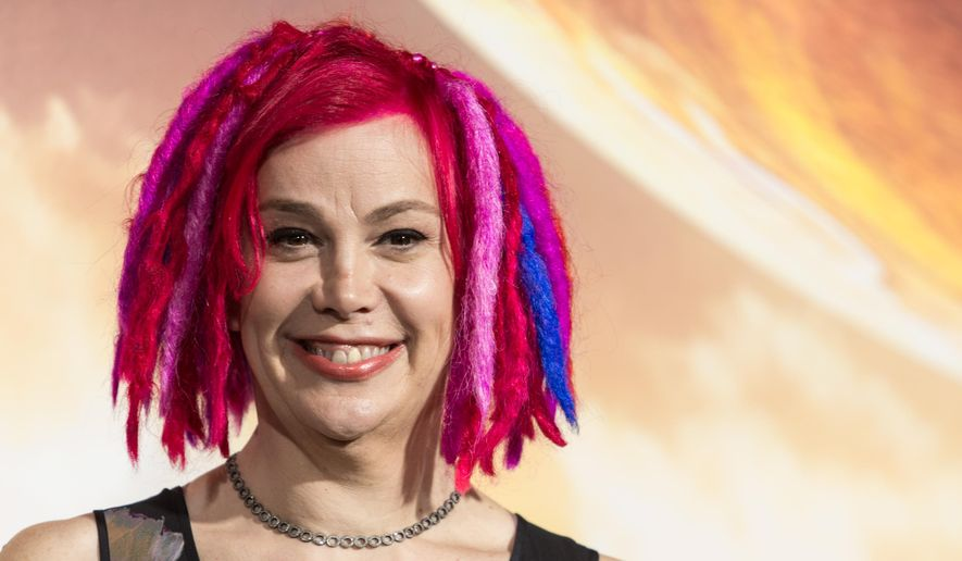 "Lana Wachowski attends the premiere of Warner Bros. Pictures' ""Jupiter Ascending"" at TCL Chinese Theatre on Monday, Feb. 2, 2015, in Hollywood, Calif. (Photo by Paul A. Hebert/Invision/AP) ** FILE **"