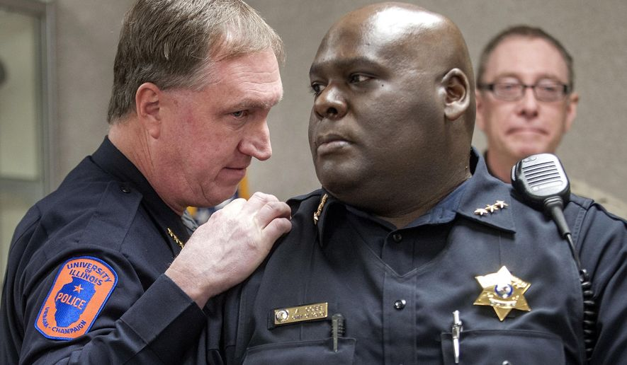 University Of Illinois Police Chief Jeff Christensen Left