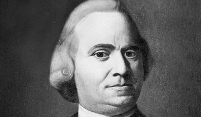 Samuel Adams, political leader and revolutionary statesman  (AP Photo)