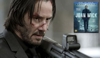 Keanu Reeves stars in John Wick, now availabe in Blu-ray. (Courtesy of Lionsgate Home Entertainment)