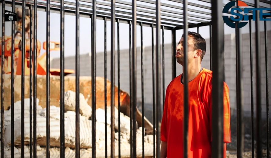 Jordan responded to the Islamic State's burning execution of pilot Lt. Muath al-Kaseasbeh by hanging at least two convicted terrorists at dawn Wednesday. (Associated Press)