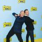 "Bill Fagerbakke (left) and Tom Kenny say they prefer to record their characters, Patrick Starr and SpongeBob SquarePants, together rather than ""Frankenstein everything together in the editing room."" ""The SpongeBob Movie: Sponge Out Of Water,"" opens Friday. (Associated Press Photographs)"