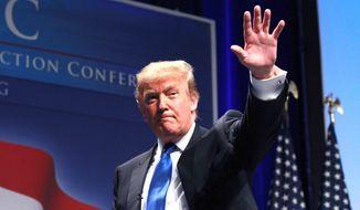 Donald Trump (Associated Press) **FILE**