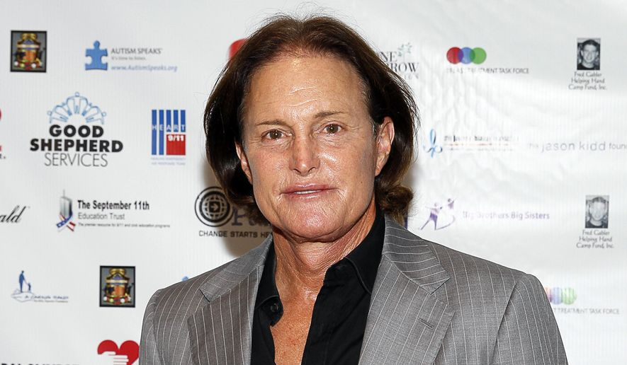 Former Olympic athlete Bruce Jenner arrives at the Annual Charity Day hosted by Cantor Fitzgerald and BGC Partners, in New York in this Sept. 11, 2013, file photo. (Photo by Mark Von Holden/Invision/AP, File)