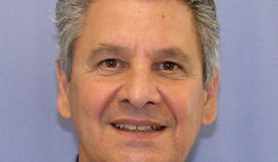 FILE - In this undated file photo provided by the Allegheny County District Attorney Dr. Robert Ferrante is shown. The former University of Pittsburgh medical researcher is scheduled to be sentenced on Wednesday, Feb. 4, 2015 for first-degree murder in his wife's cyanide poisoning death.  (AP Photo/Allegheny County District Attorney, File)