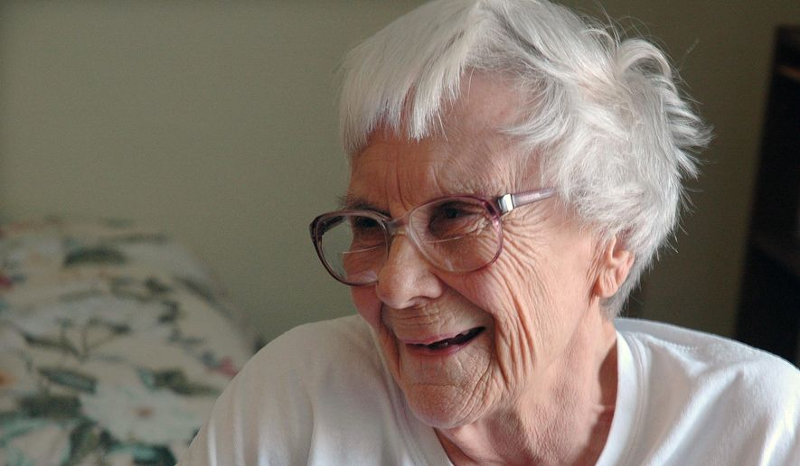 This May 19, 2010, photo provided by Penny Weaver shows author Nelle Harper Lee in her assisted living room in Montoeville, Ala. (AP Photo/Penny Weaver) ** FILE **