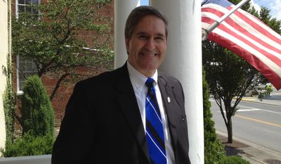 Virginia Delegate Randy Minchew did not respond to questions about the emails or how he squares his job as a land-use lawyer with his elected position in one of the nation's fastest-growing counties. (Facebook)