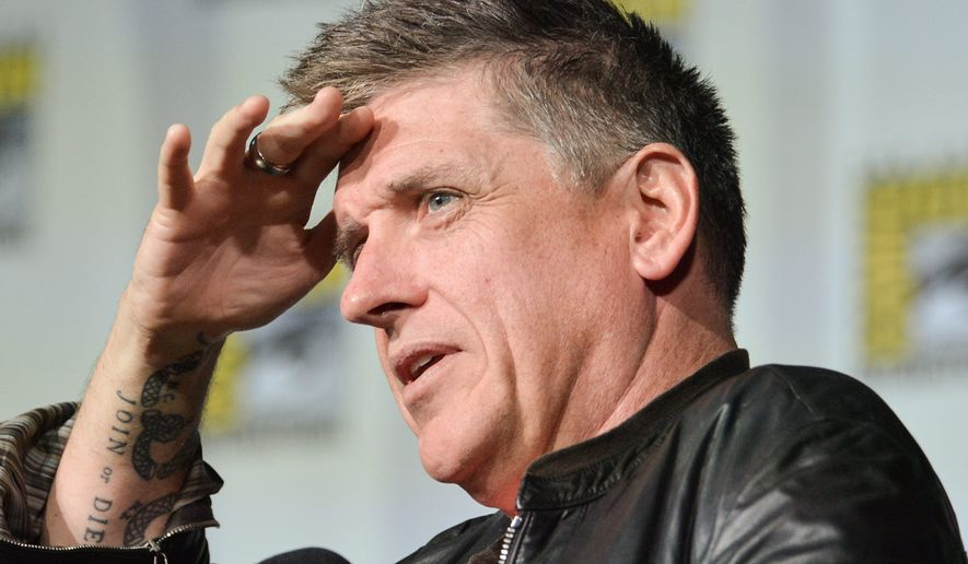 "Craig Ferguson, the Scottish native who hosted CBS' ""The Late Late Show"" for a decade, is bringing his acerbic humor to the Warner Theatre in the District this weekend. (Associated Press)"