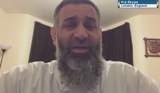 Controversial Muslim cleric Anjem Choudary suggested Thursday that the filmed burning of Jordanian pilot Moaz al-Kasasbeh by Islamic State militants was justified under the Koran. (NewsmaxTV)