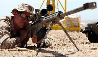 M107 Semi-Automatic Long Range Sniper Rifle. (Image: U.S. Army)